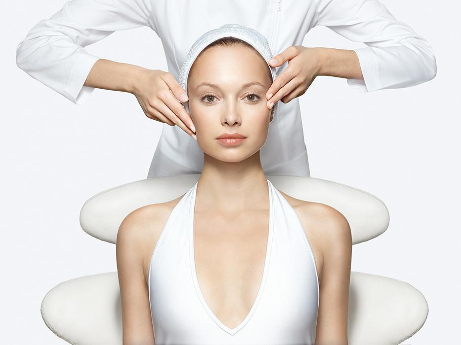 Gommage du corps et réhydratation, Soin visage drainant luminosité avec mésothérapie