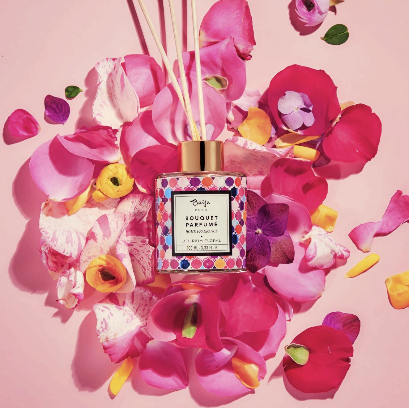 Bouquet parfumée, produit de Baija