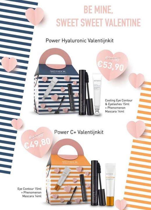 Poromotion Power hyaluronic et power c+ Sweet sweet Valentine